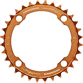 Race Face Narrow Wide Chainring 4-bolt 10/11/12-speed orange